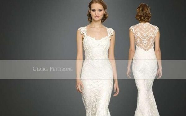 Claire Pettibone Chantilly Size 2